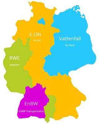 Übersicht: Stromanbieter in Deutschland
