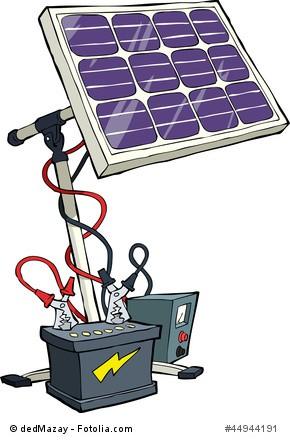 strom selber erzeugen mit einer kleinen solaranlage. Black Bedroom Furniture Sets. Home Design Ideas